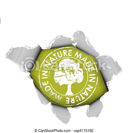 Ecological, organic item - csp4115192