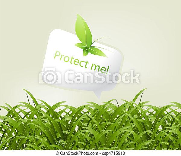 ecologie, concept - csp4715910