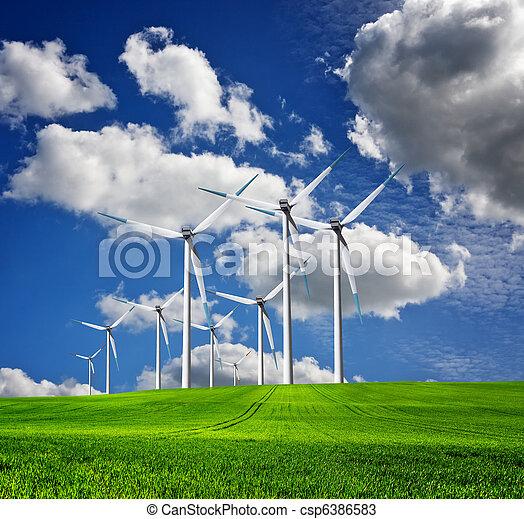 ecologie, landscape - csp6386583