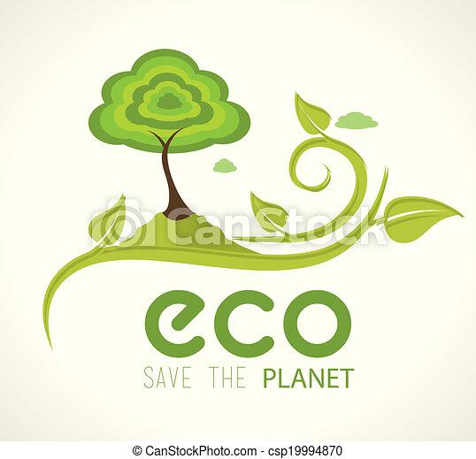 ecologie, ontwerp - csp19994870