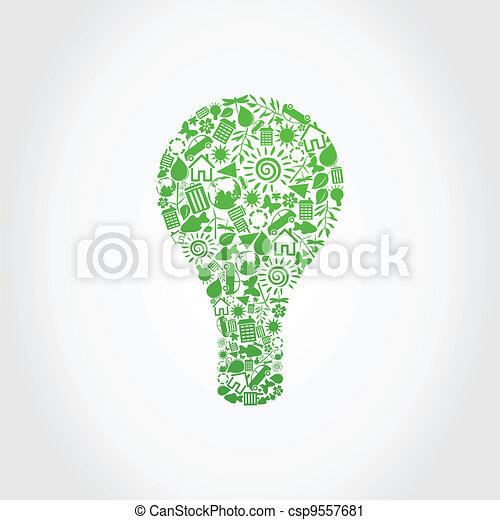 Ecology a bulb - csp9557681