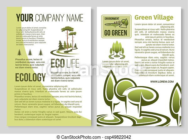 ecology and environment protection poster design ecology and