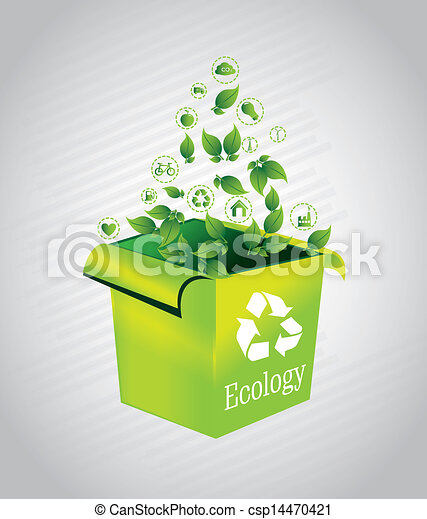 ecology box  - csp14470421