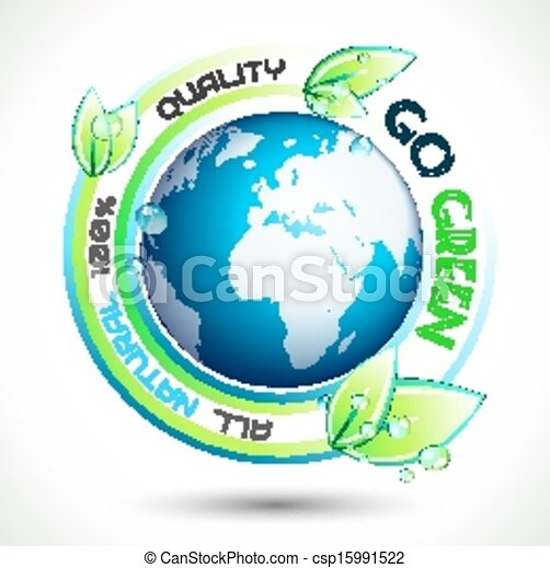 Ecology Green conceptual background - csp15991522