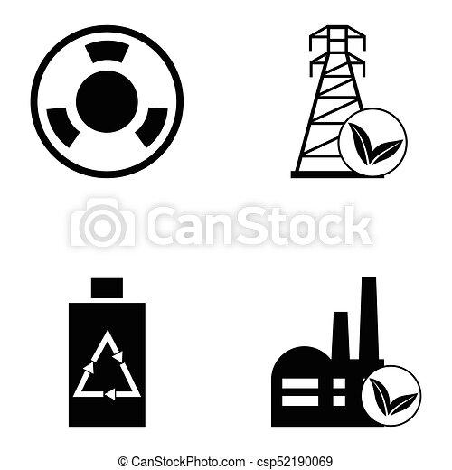 ecology icon set - csp52190069