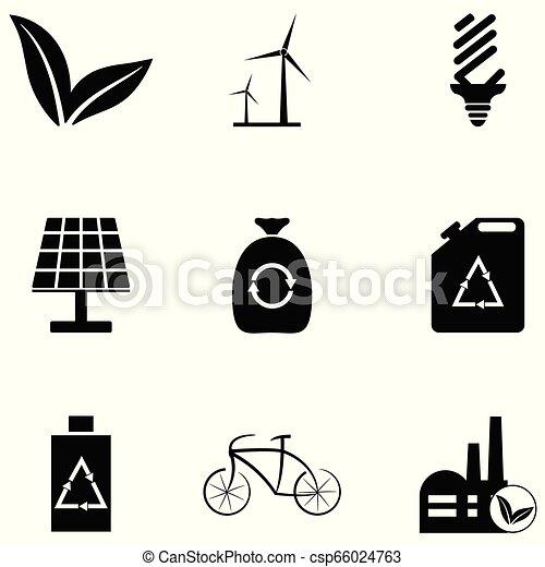 ecology icon set - csp66024763