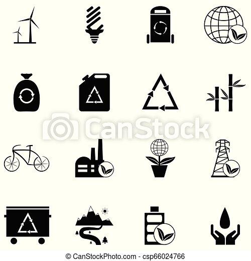 ecology icon set - csp66024766