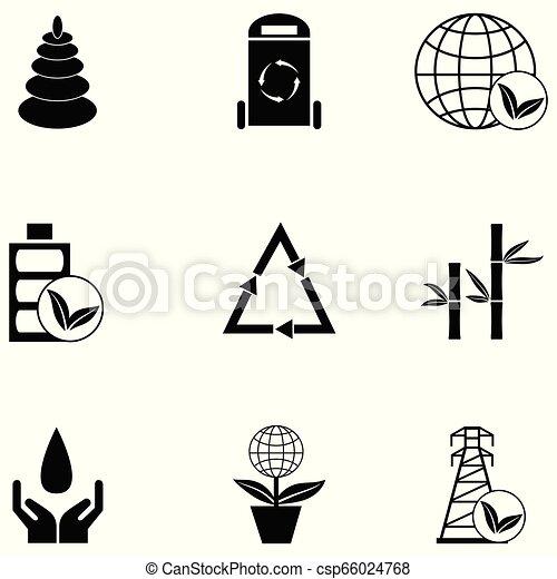 ecology icon set - csp66024768