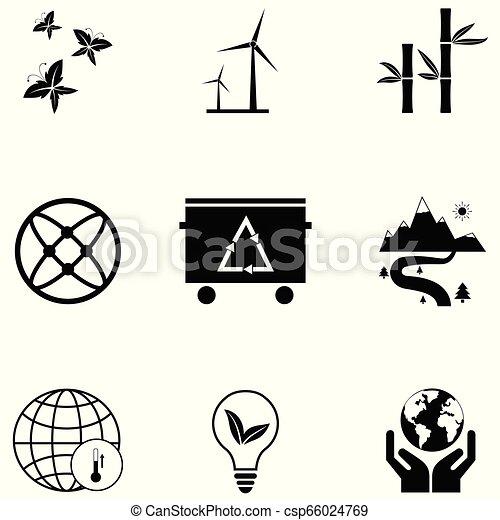 ecology icon set - csp66024769