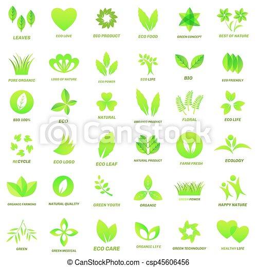 Ecology icon set - csp45606456