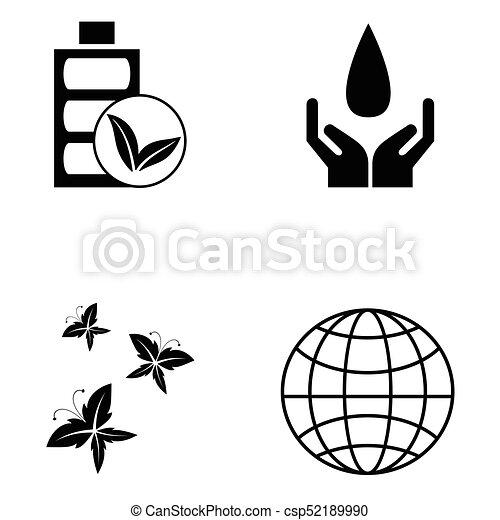 ecology icon set - csp52189990