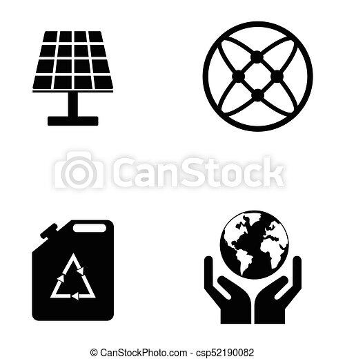 ecology icon set - csp52190082