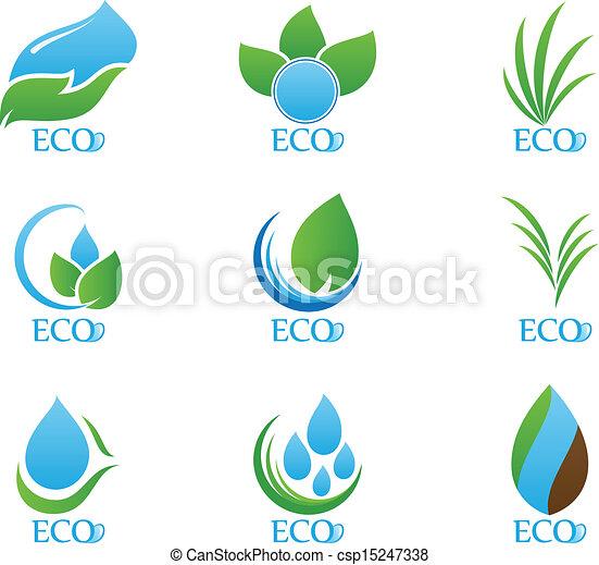 Ecology icon set - csp15247338