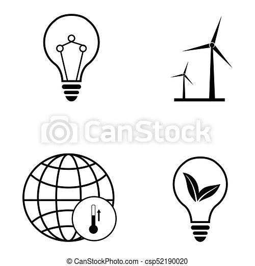ecology icon set - csp52190020