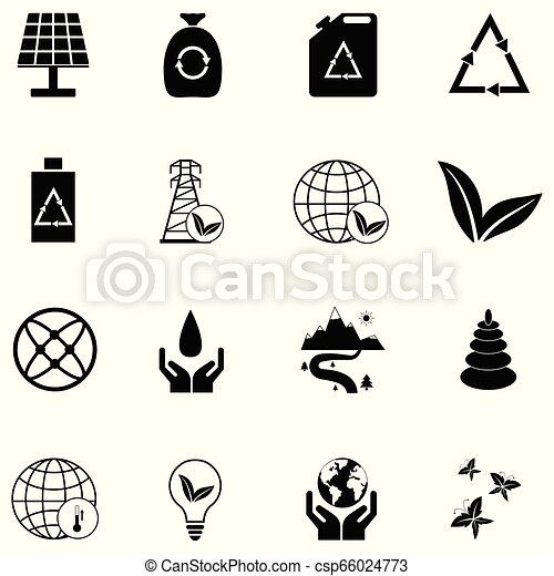 ecology icon set - csp66024773