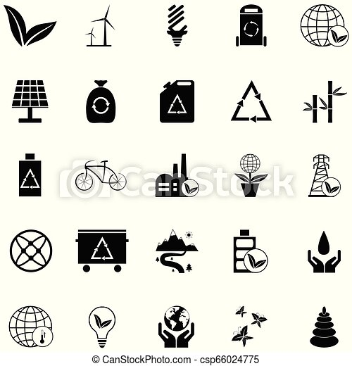 ecology icon set - csp66024775