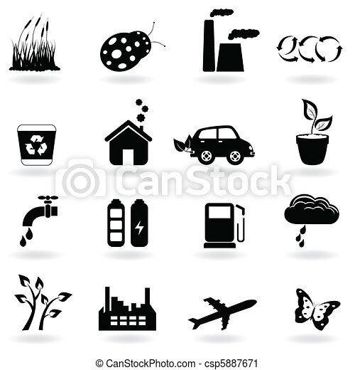 Ecology icon set - csp5887671