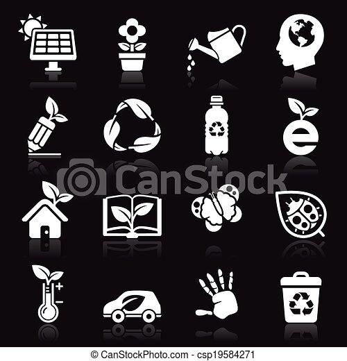 Ecology icons set2. - csp19584271