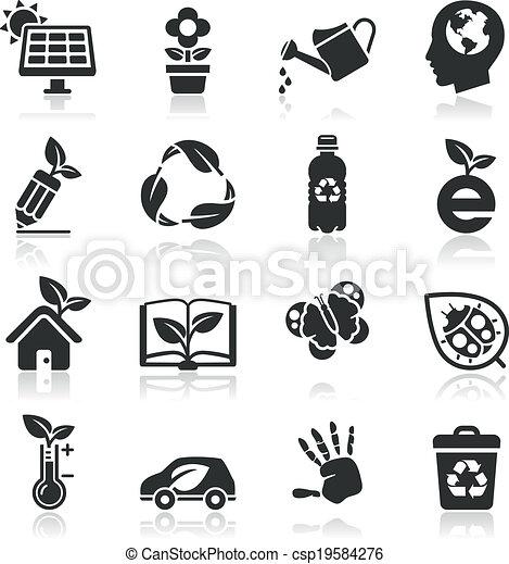 Ecology icons set2. - csp19584276