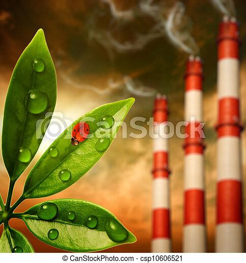 Ecology in danger - csp10606521