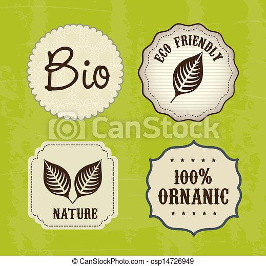 ecology labels - csp14726949