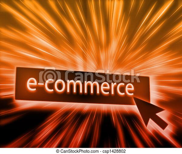Ecommerce button - csp1428802