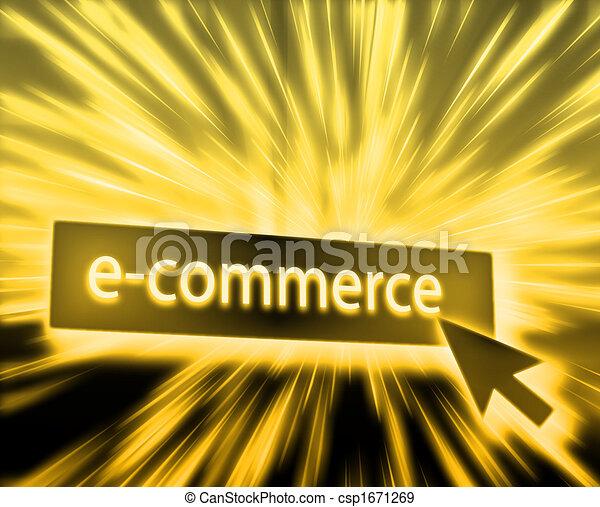 Ecommerce button - csp1671269