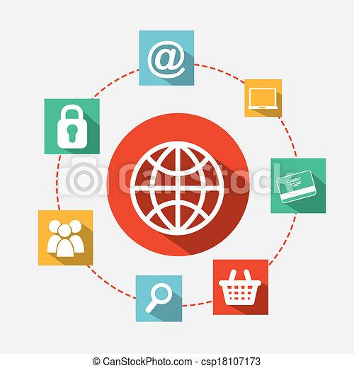 ecommerce design - csp18107173