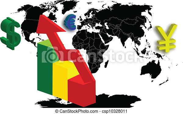 economía mundial - csp10328011