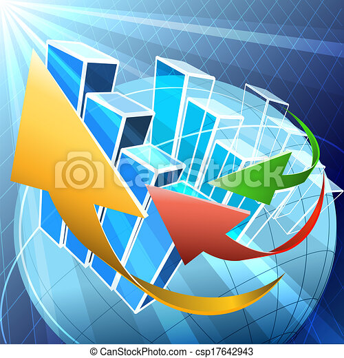 Economía global - csp17642943