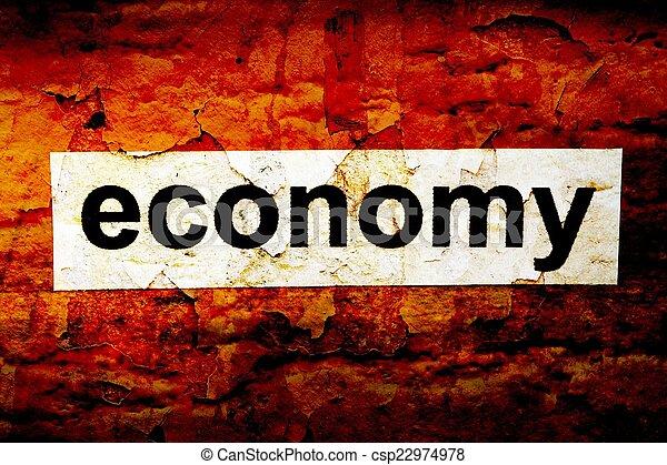 economia - csp22974978
