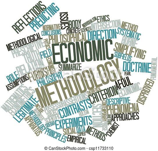 Economic methodology - csp11733110
