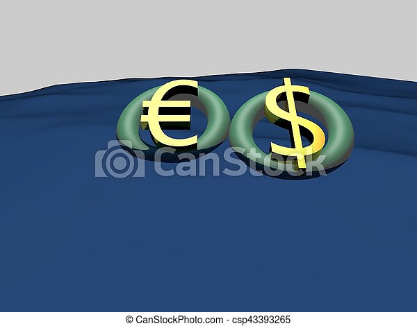 Economy euro currency fluctuation issue - csp43393265