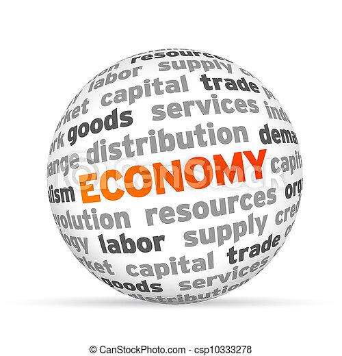 Economy - csp10333278