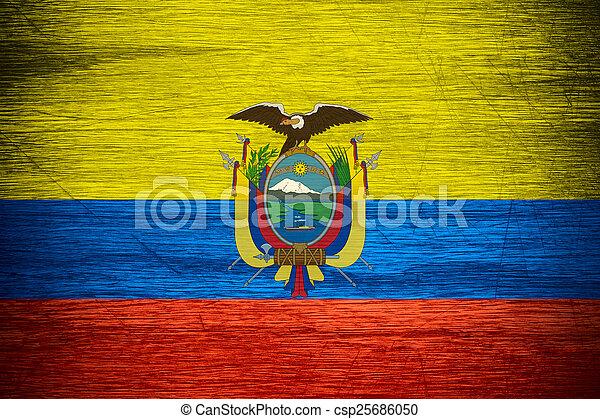 Ecuador flag - csp25686050