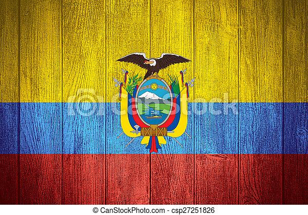 Ecuador flag - csp27251826