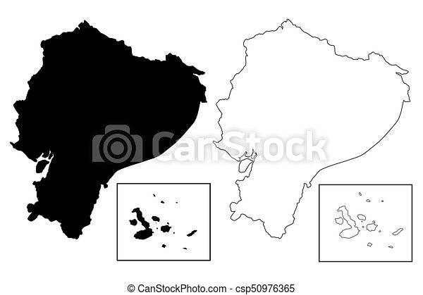 Ecuador map vector illustration scribble sketch ecuador ecuador map vector publicscrutiny Choice Image