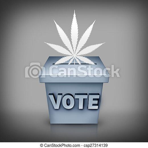edição, marijuana, eleição - csp27314139