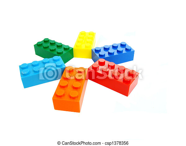 edifício bloqueia - csp1378356