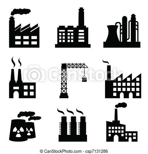 edifícios, industrial - csp7131286