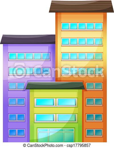 edificio, alto - csp17795857