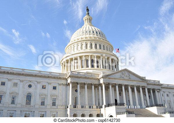 edificio, colina de capitol - csp6142730