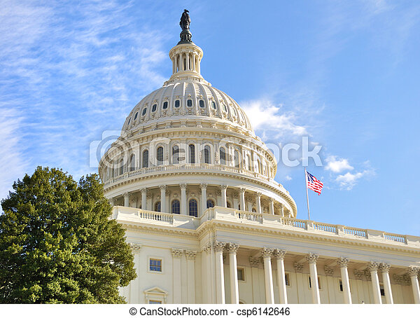 edificio, colina de capitol - csp6142646
