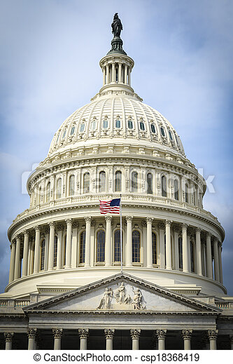 edificio, colina de capitol - csp18368419