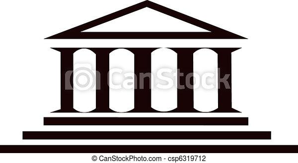 Edificio de columnas - csp6319712