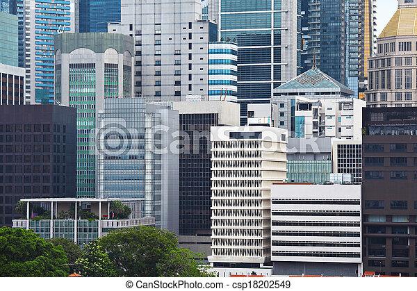 Edificio comercial en Singapur - csp18202549