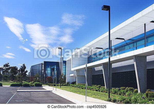 edificio, industrial - csp4505926