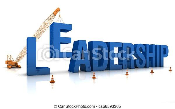 Construir un liderazgo - csp6593305
