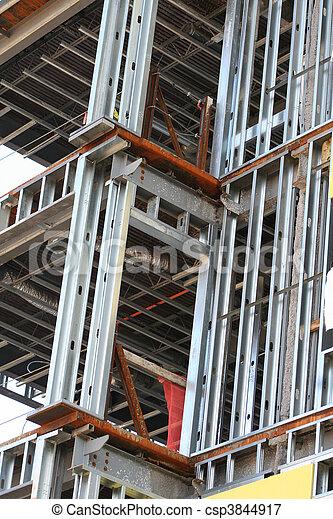 Edificio marco estructura de metal Edificio marco metal sitio