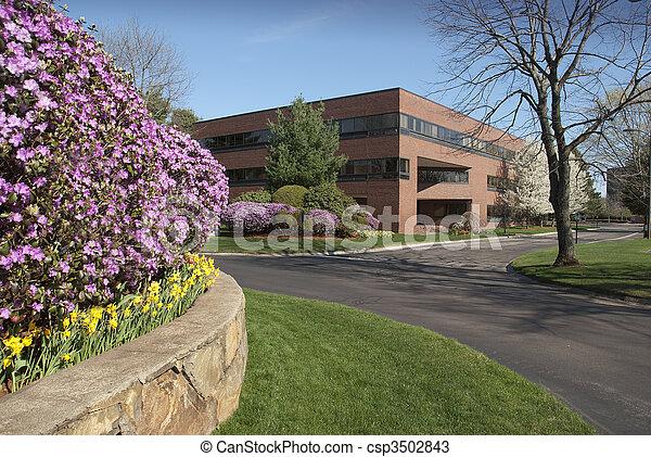 edificio, moderno - csp3502843